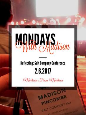 Reflecting: Salt Company Conference