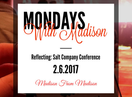 Reflecting: Salt Company Conference