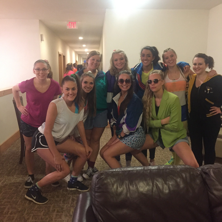 CGroup ready for the Dance