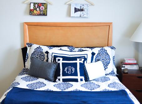 My College Bedroom: Bedding & Decor