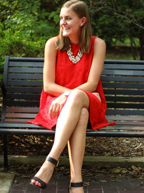 A Flirty, Preppy, and Fun Outfit