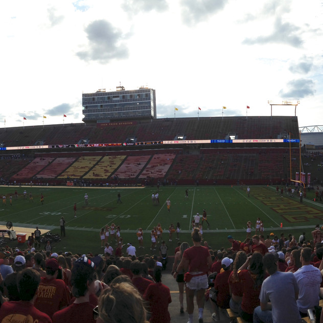 Jack Trice for the First Football Ga