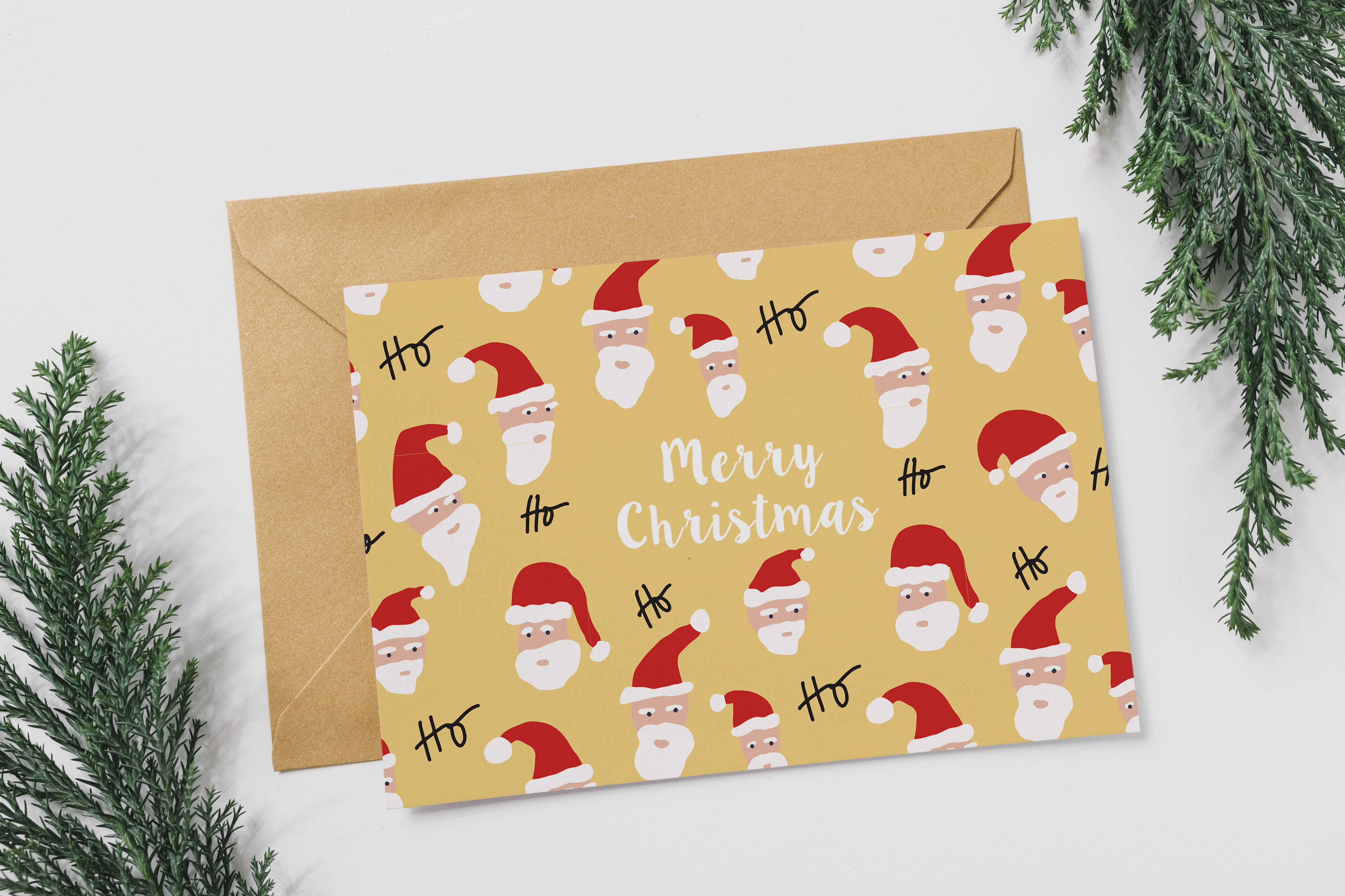 Santa card MU