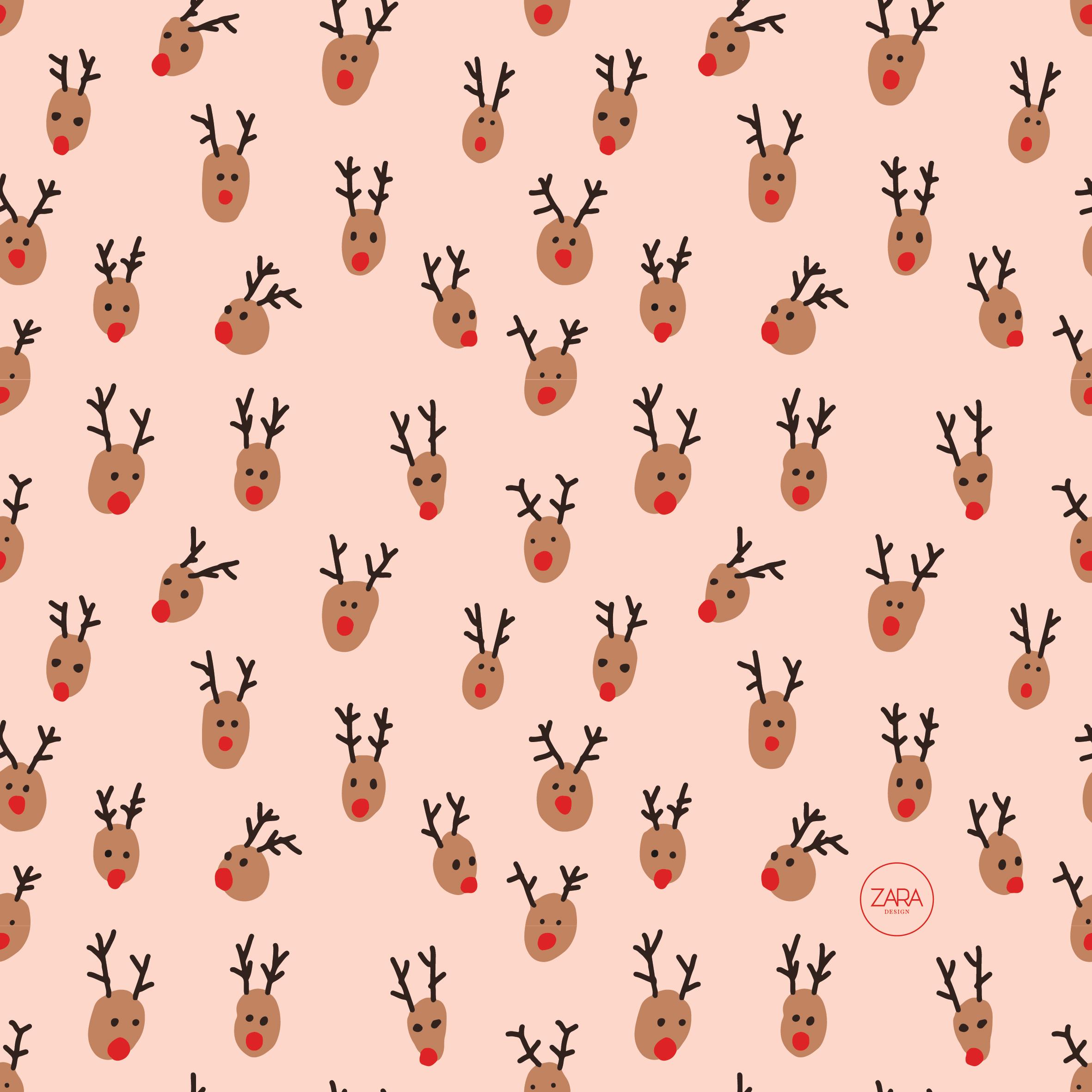 reindeers pattern