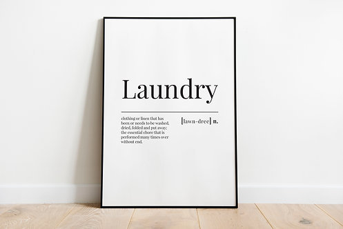 laundry definition A3