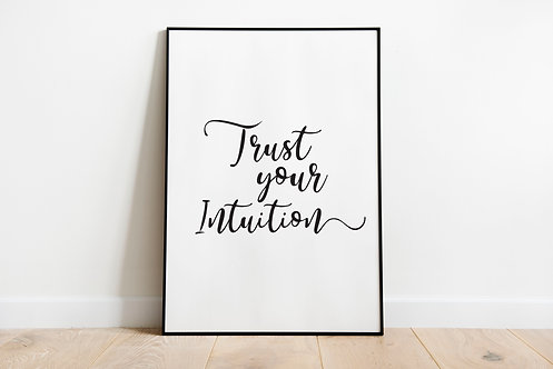 trust your intuition A3