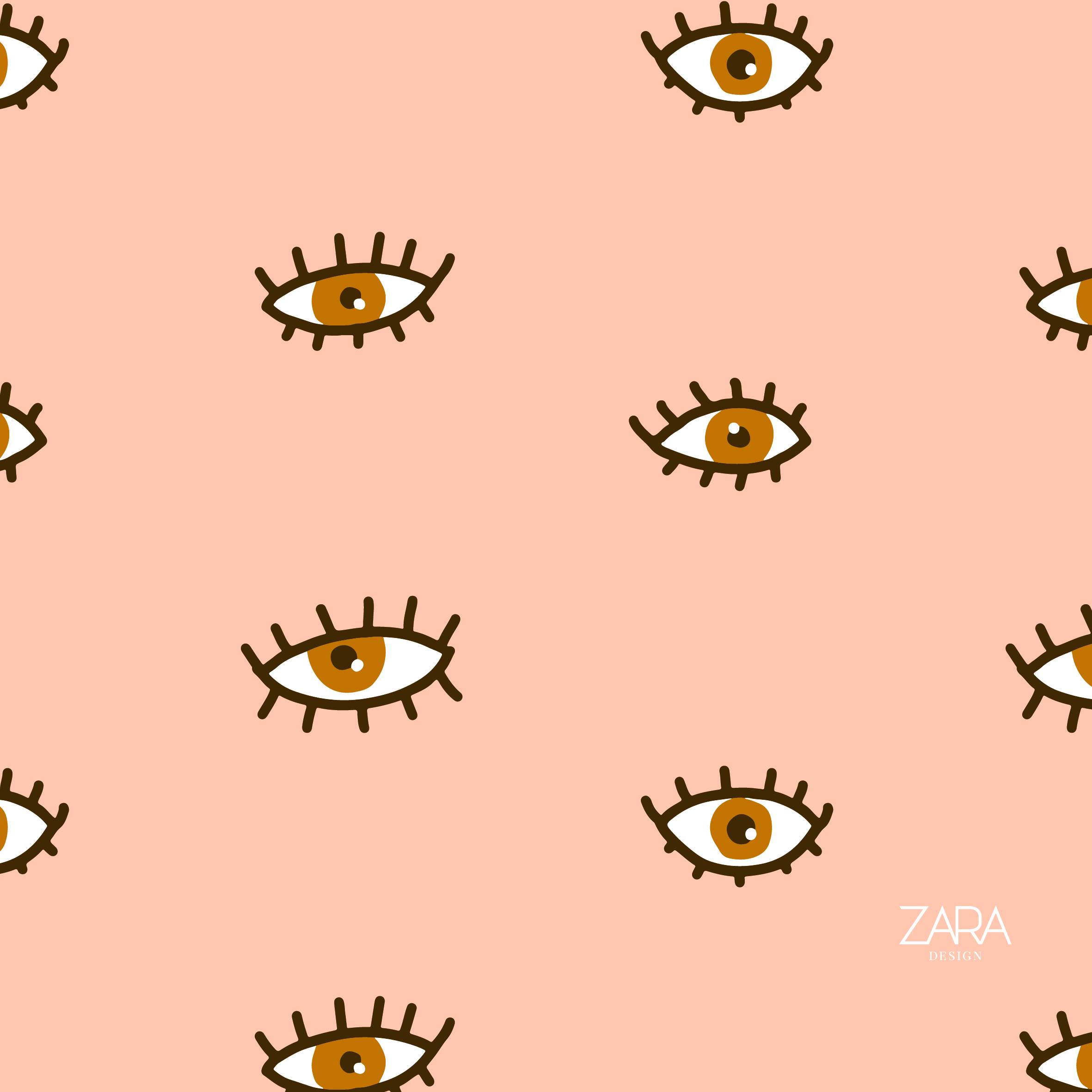 brown eye nude pattern