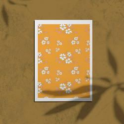 white flowers MU