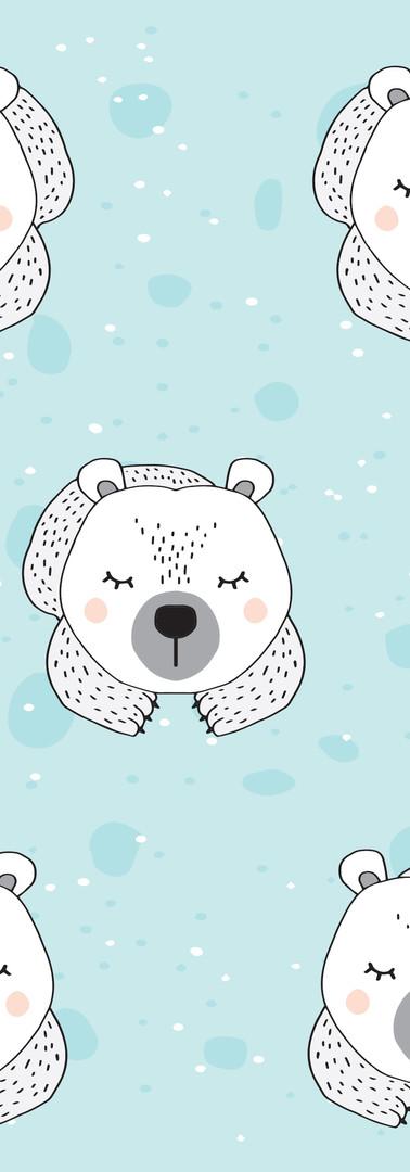 Sleepy Pola Bear Pattern