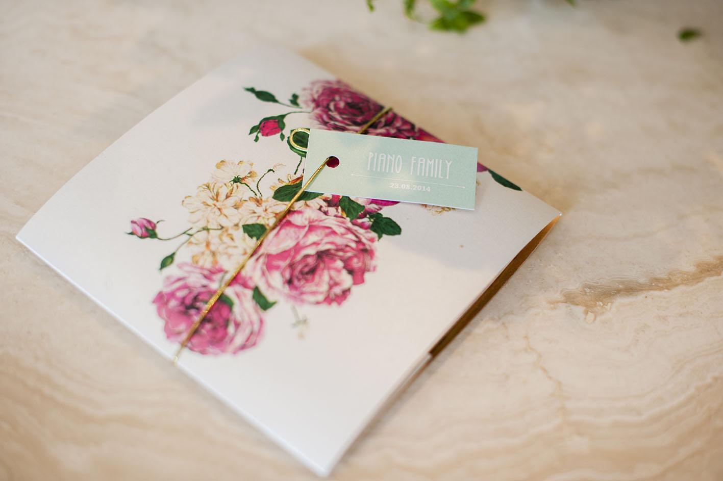 Wedding Invitation Envelope and Tag