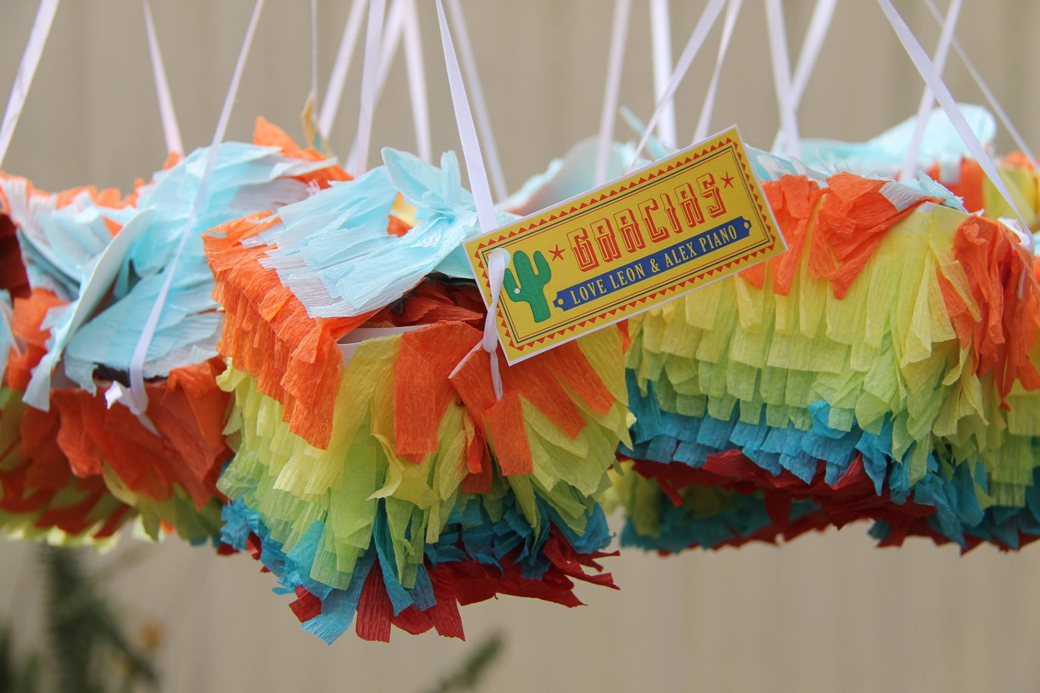 Fiesta Party Box Tags