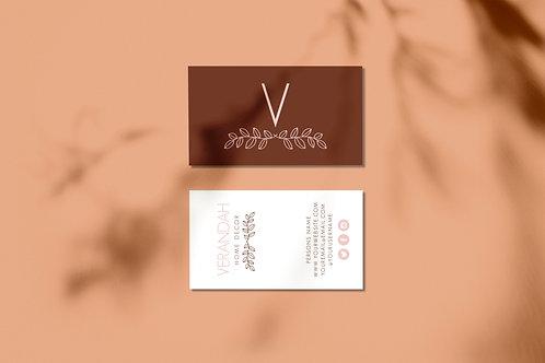 Leaves/Nature Logo Brand Kit for Sale