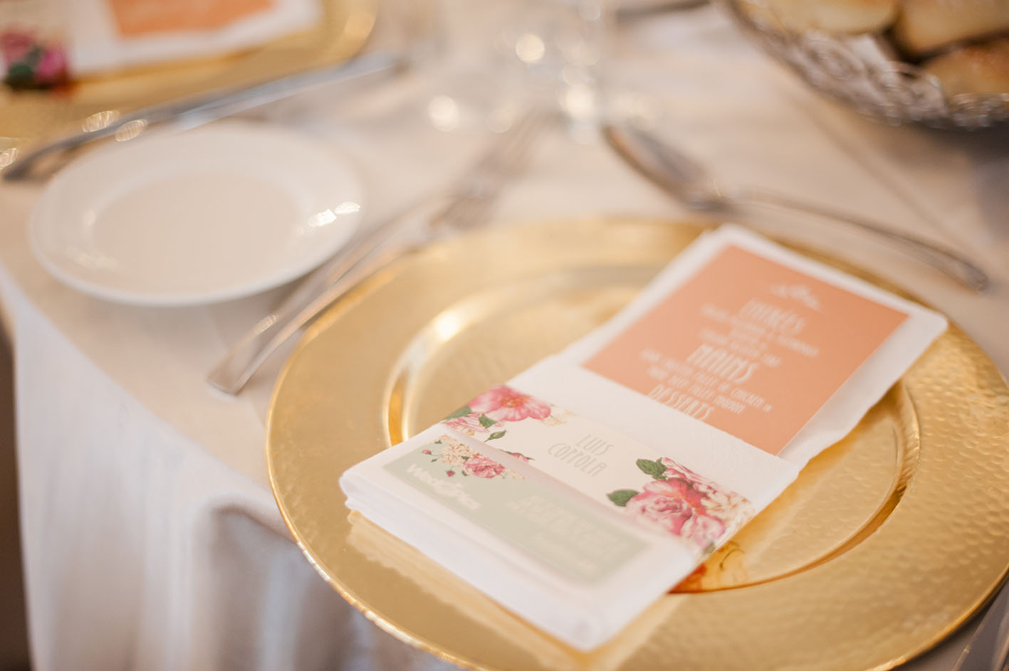 Wedding Menu and Name Tags