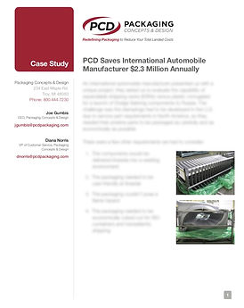 PCD Save Auto Company 2.3 Million Case S