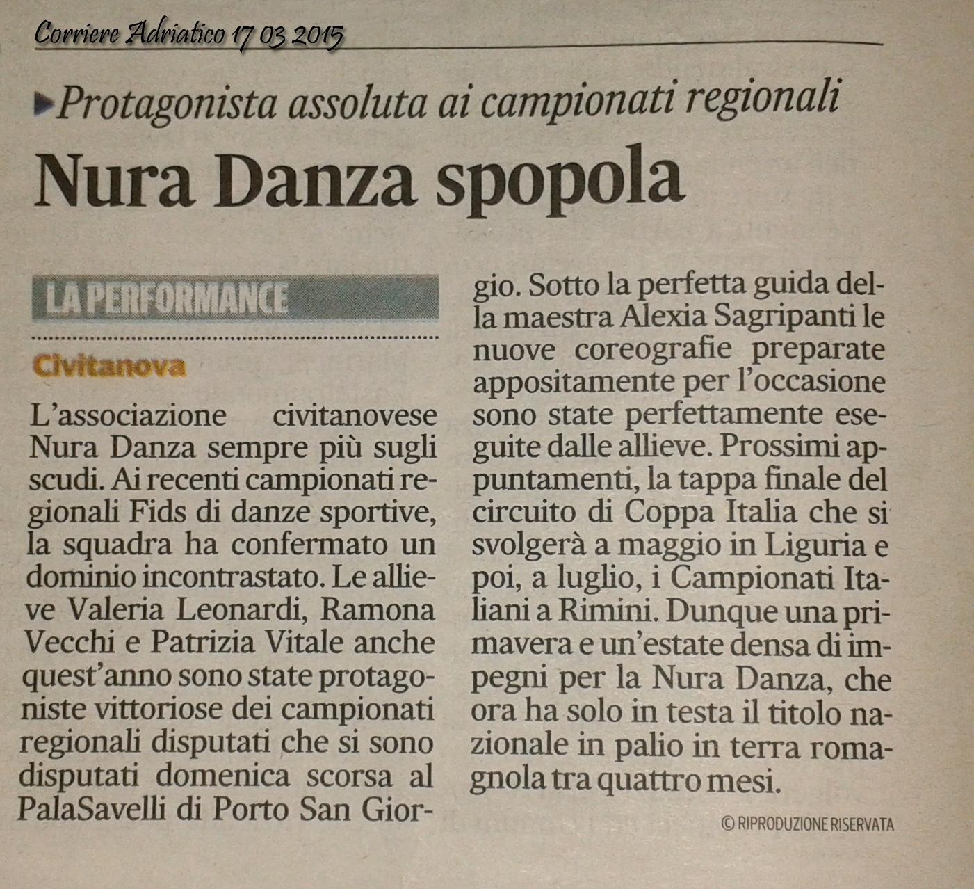 2015_Corriere Adriatico_ 17 Marzo