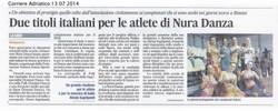 2014_Corriere Adriatico_13 Luglio