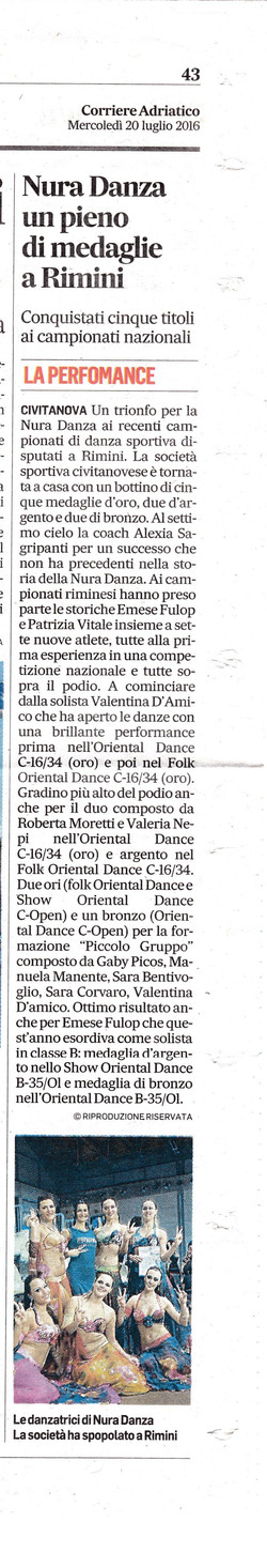 2016_Corriere Adriatico_20 Luglio