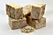 Krouned body care, trending skincare brand, love, gift, Oatmeal bar soap