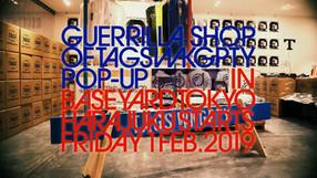 TAGS WKGPTY GUERRILLA SHOP