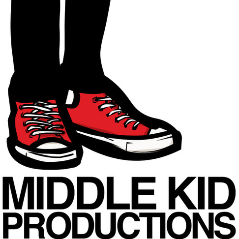 """Previous design for my personal brand """"Middle Kid"""""""