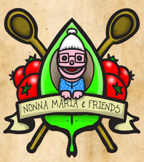 "Current logo for ""Nonna Maria and Friends"" - a YouTube web series I produce along with some friends."