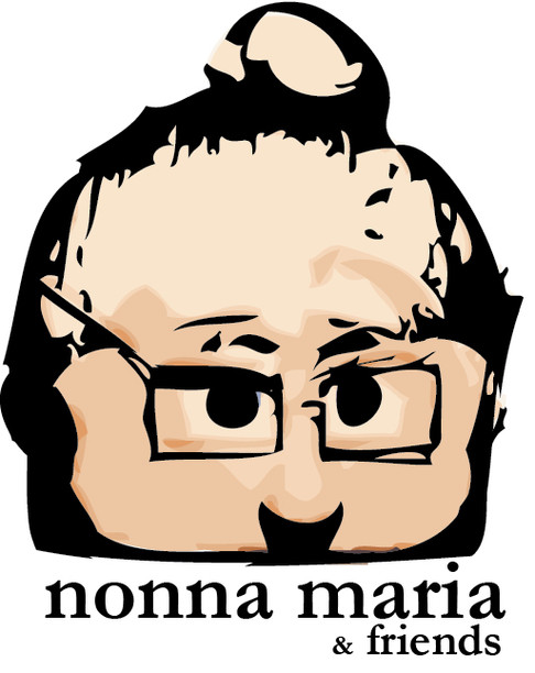"""Previous logo for """"Nonna Maria and Friends"""" - a YouTube web series I produce along with some friends."""