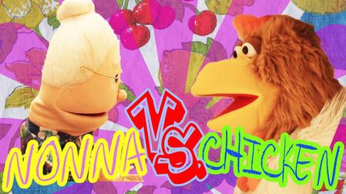 A fun video of Nonna Maria fighting a chicken.