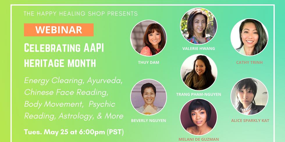 AAPI Spiritual Business Webinar by Happy Healing Shop