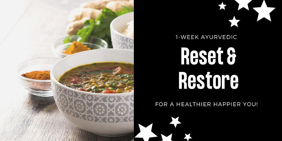 1-Week Reset & Restore