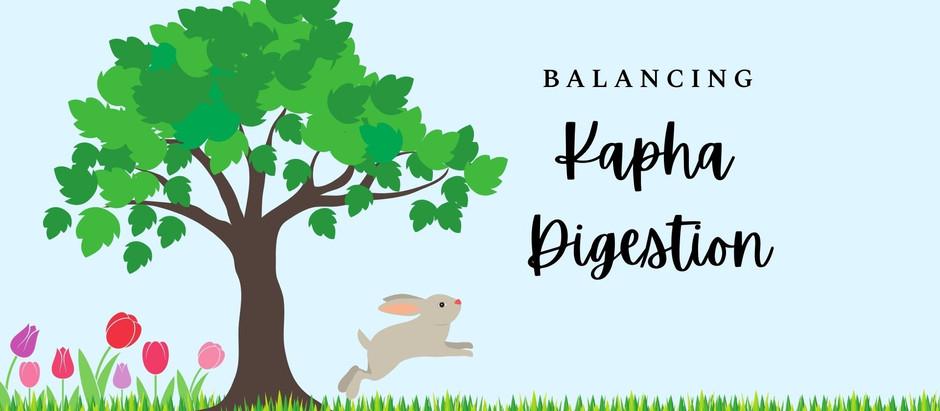 5 Tips for Balancing Sluggish Digestion (Kapha)