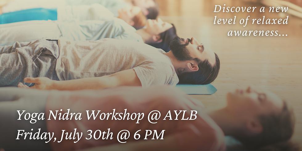 Yoga Nidra Workshop @ AYLB