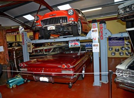 Suministros Dama presente en el museo del motor americano en Irlanda
