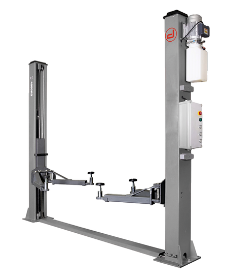 DM4.0T/2 2 Post Lift with Base Frame