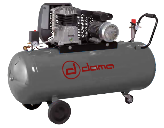 DAC150.3 Compresor de pistón