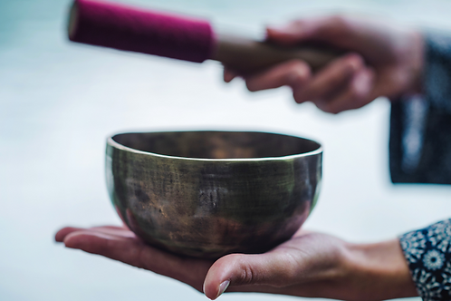 Introduction to Sound Therapy with Himalayan Singing Bowls
