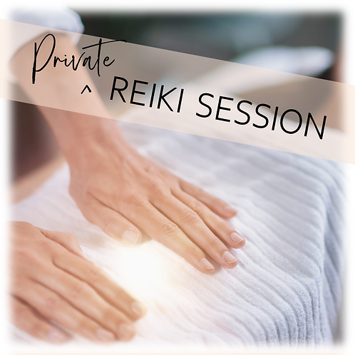 Private Reiki Session (individual)