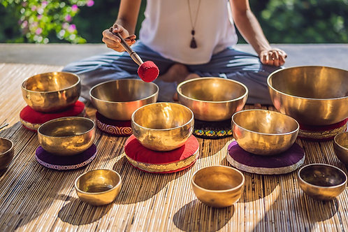 Sound Therapy with Himalayan Singing Bowls (Practitioner)