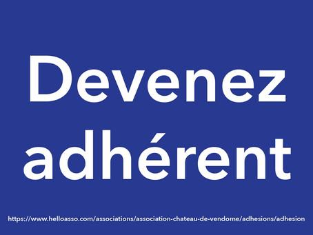 DEVENEZ ADHÉRENT !