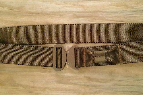 Cinturon con anilla de extracción con Cobra buckle
