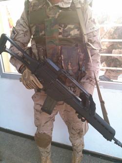 Integrante Unidad Los Dragones, Infanteria, Ejercito de Tierrra