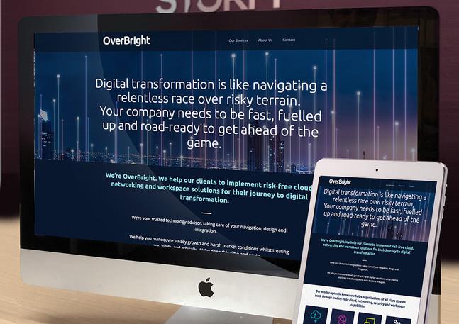 tech-company-website-design