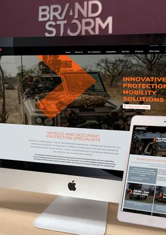 New website design for Jankel