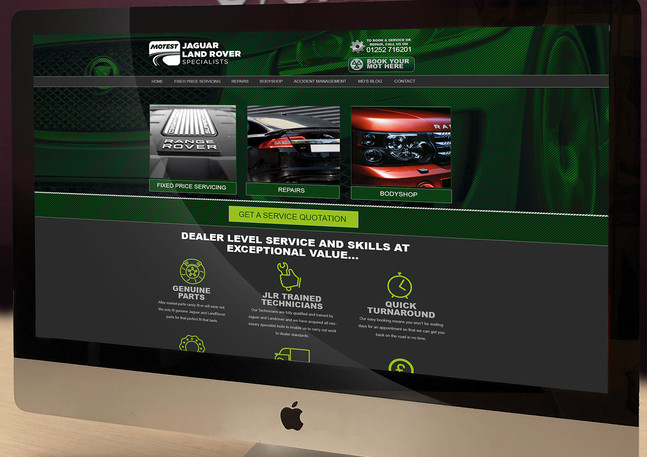 JLR Website