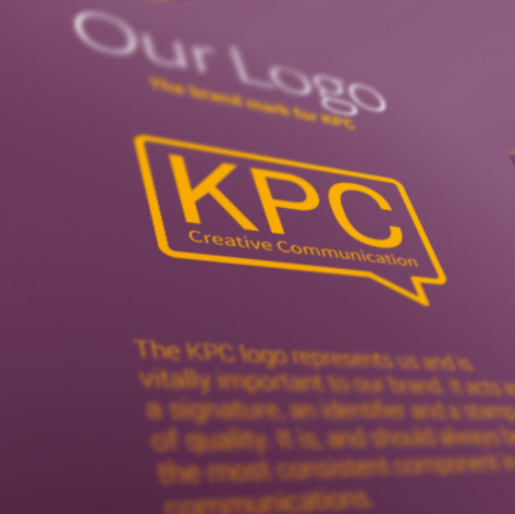 Brand realignment and guidelines for KPC Creative