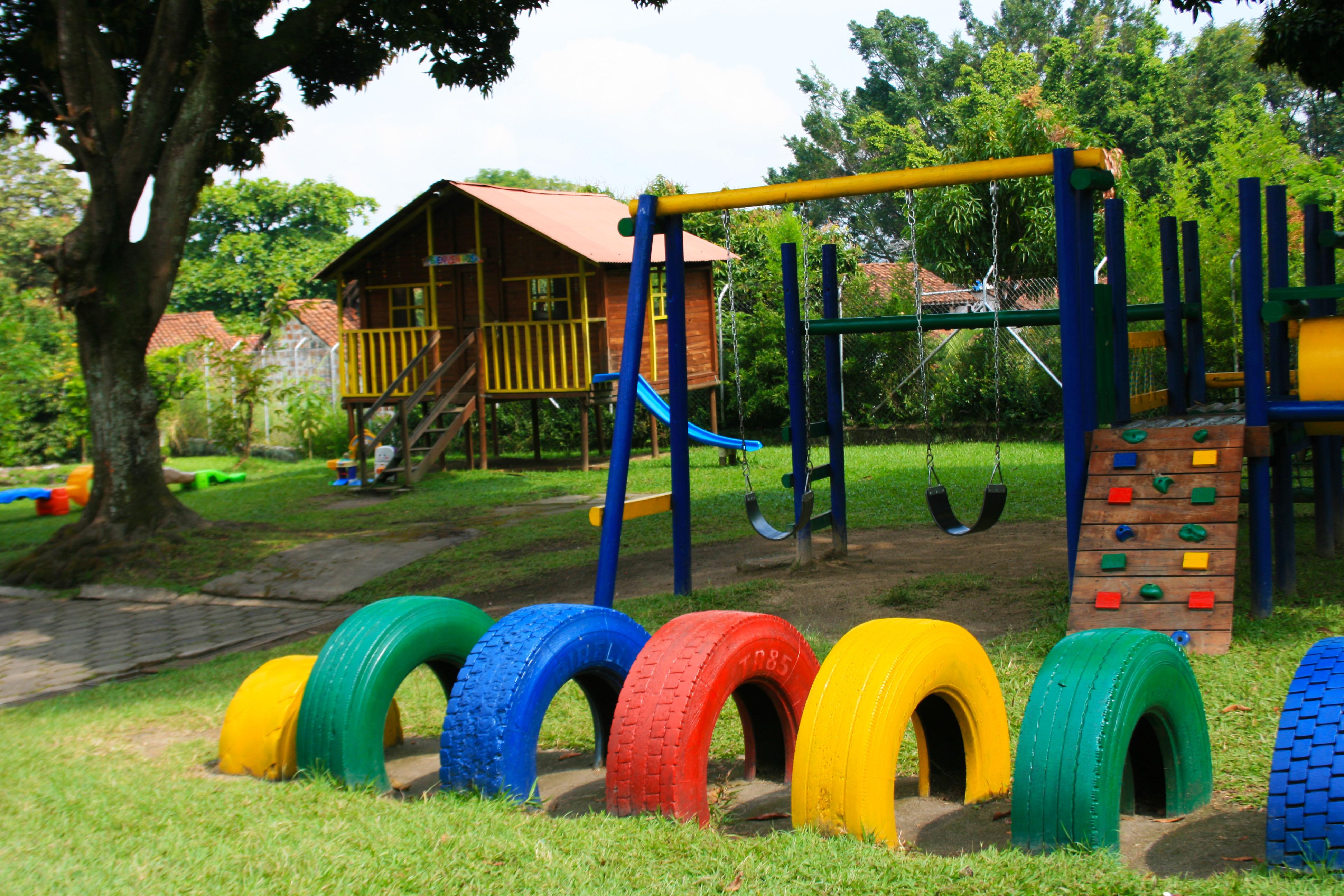 Área de juegos Pre escolar