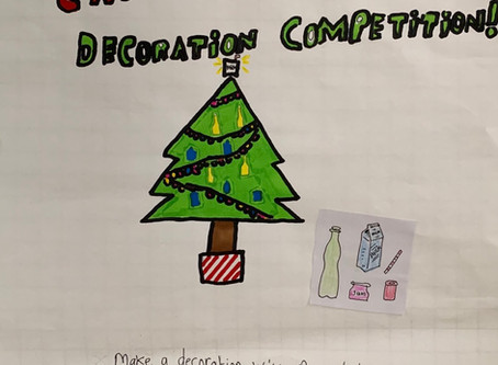 Student Council Art Competition 🎄⛄️🎅