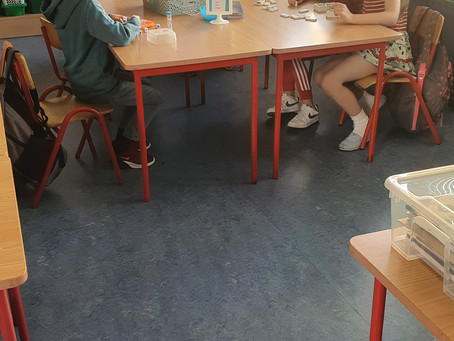 Morning Activities in 2nd Class