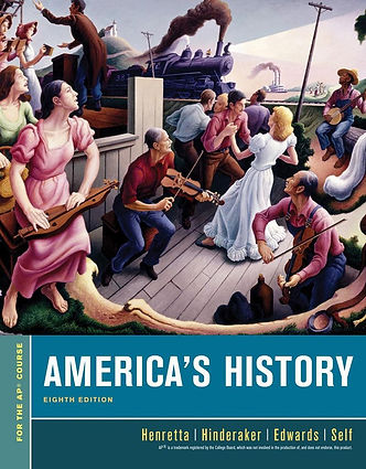 Cover-America's History AP 8th Edition.j
