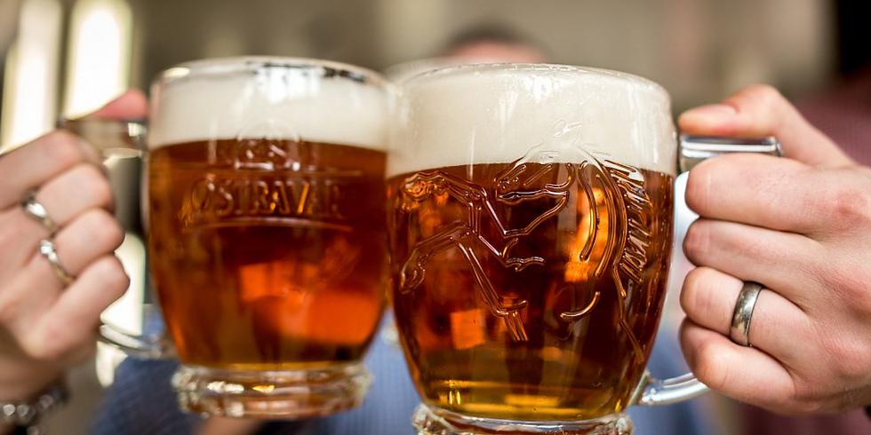 Sousedské setkání u piva