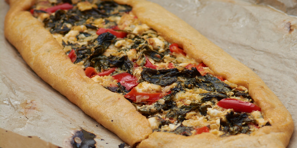Ozlem's Turkish Vegetarian Feast Supper Club and Pide Workshop